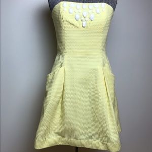 LILLY PULITZER YELLOW SUNDRESS